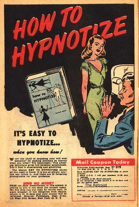 It's Easy To Hypnotize