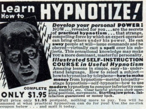 Learn How To Hypnotize